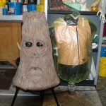 Animatronic Tree / Ghost Hui-Buh Foam skin and Harness