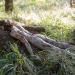 Leiche im Wald Dummie FX