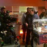 """Animatronic Baby am Set von """" Der Bergdoktor"""""""