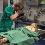 Mädchenleiche unterernährt SFX Leichendummie Rechtsmedizin Dummie Film TV Kino movieSFX