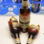 Effekt Bierflaschen aus Gummi