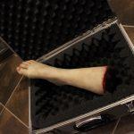 Abgetrennter Unterschenkel mit Fuß FX Dummie
