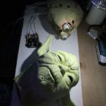 Yoda Foamlatex Skin and Animatronic