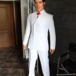 "Elvis 68 ""if i can Dream"" Silicone Puppet life size 1:1"