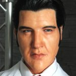 Elvis 68 Silicone Puppet life size 1:1