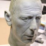 Humphrey Bogart Life Size Head Sculpt Bar Diner Ausstattung