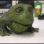 Animatronic Frog