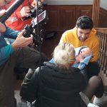 Animatronic Neugeborenes Geburt SFX animiertes ferngesteuertes Baby Fimeffekte
