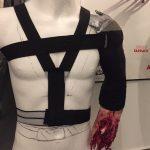 Abgerissener Arm Harness mit Blutpumpe SFX Film Bluteffekte Stuntman Soldat