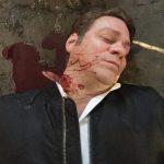 Scherbe im Hals SFX Blut Film Effekte SFX Maskenbild Blutpumpe