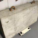 Beton Barriere Poller aus leichten Material Prop Film Effekte