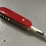 SFX Messer einziehbare Klinge schweizer Taschenmesser mit versenkbarer Klinge movieSFX Spezialeffekte